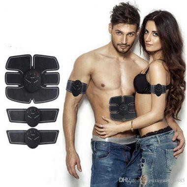 Centura electrostimulare, brate si abdomen