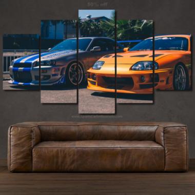 Canvas Fast & Furious