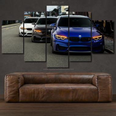 Canvas BMW M Power
