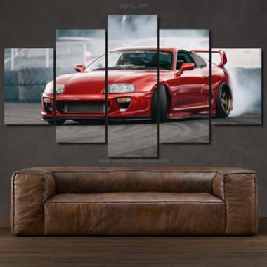 Canvas Toyota Supra