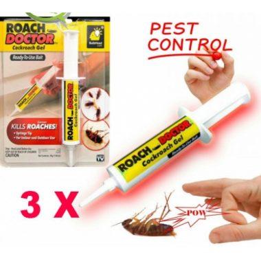 Set 3 x Insecticid tip seringa, solutie antigandaci